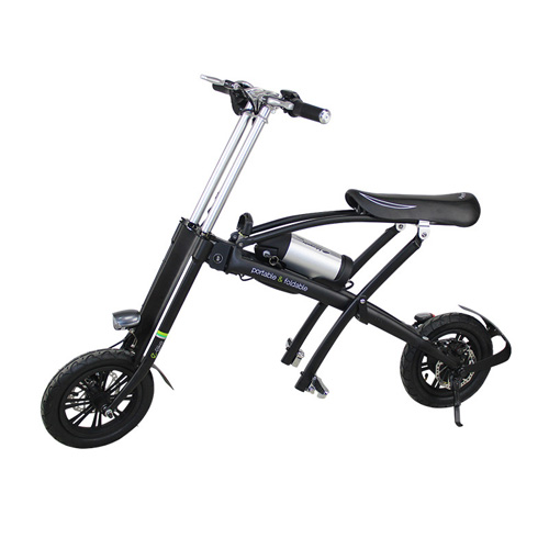 smallest fodling electric bike